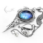 DIARGHNIS - silver and moonstone