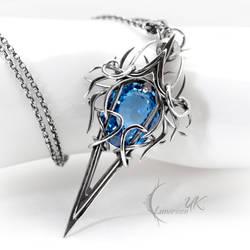 ZYRGNAAR - silver and blue quartz by LUNARIEEN