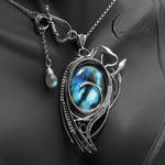 NYTHENDRALL - silver and labradorite