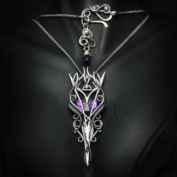 AMETUVILTH - silver and amethyst