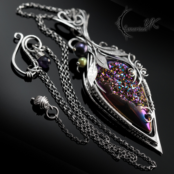 Ermehtyr silver and titanium druzy agate by lunarieen on deviantart ermehtyr silver and titanium druzy agate by lunarieen aloadofball Images