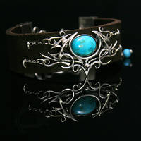 LUHTRAX - Silver, Leather, Turquoise.