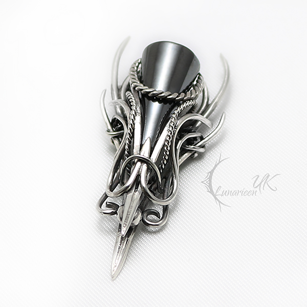 FAELTER Silver and Hematite by LUNARIEEN
