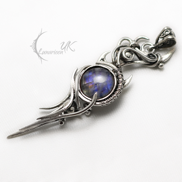 NASSALANTRIS i Silver and Moonstone. by LUNARIEEN