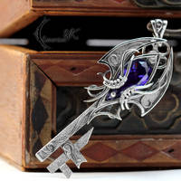 AZTAGHANAR - Silver and Purple Zircon. by LUNARIEEN