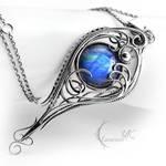 YATHARILN - Silver and Moonstone