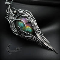 FUGHRIAL TRHIALI - Silver and Labradorite by LUNARIEEN