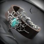 ZINTRILL, Silver and Peruvian Amazonite