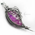 UNNARX ERVITH Silver, Agate and Amethyst