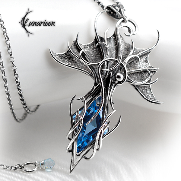 ANGHTHAR DRAGNI - Silver and Topaz.
