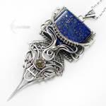 MAYARVILTHSilver,Lapis Lazuli,Labradorite,Sapphire