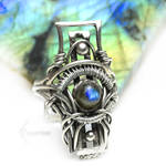 ESSEREX RA (ring) Silver and Labradorite