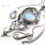 ENQUALDIAR - Silver and Moonstone