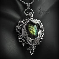 NYARNIL ATTERIA - Silver and Labradorite by LUNARIEEN