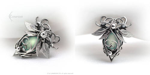 DAQURIAL - Silver and Chalcedony