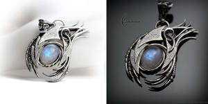 DARTHAR - Silver and Moonstone