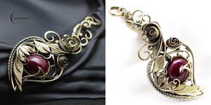 NIRYALL RYASA - Brass, Silver and Ruby