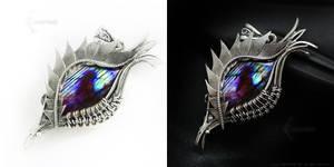 GARRAZATH Dragon's Eye Silver and Labradorite