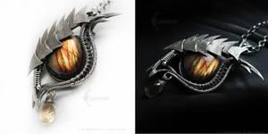 THORILLIOUS Dragon's eye with Labradorite by LUNARIEEN