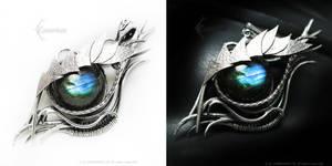MARRADANH Dragon's Eye with Labradorite