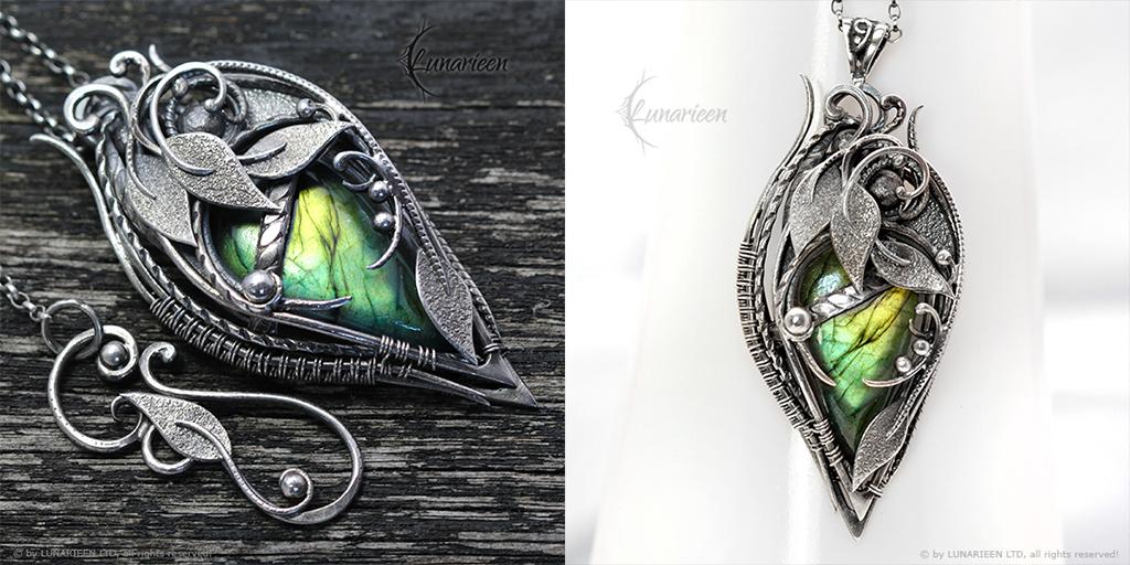 SEHRIA XANTRIS - Silver and Labradorite by LUNARIEEN