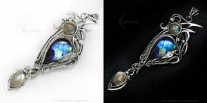 DIMARINARTH - Silver and Labradorite by LUNARIEEN