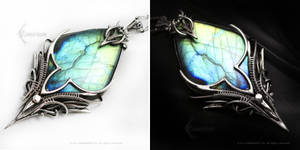 ESSERTIEL ARDAMARTH Silver and Labradorite
