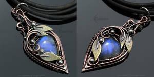 ZENHERIAL - Copper and Moonstone