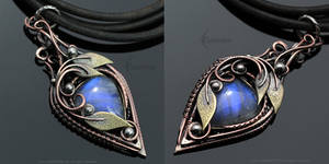 ZENHERIAL - Copper and Moonstone by LUNARIEEN