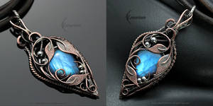 LYNRIA - Copper and Moonstone