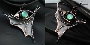 FYTHARRN DRACO - Dragon's Eye pendant
