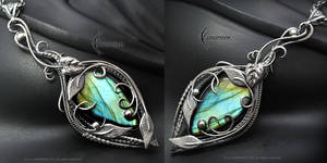 ZERRIA TERILN - Silver and Labradorite by LUNARIEEN