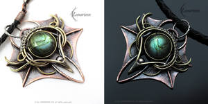 THAZNHYRN DRACO - Exclusive gothic style Pendant.