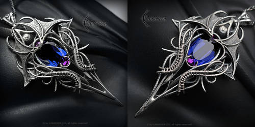 OQTRA FHTARN - Silver and Alexandrite by LUNARIEEN