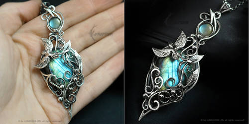 FELLERINTH Silver and Labradorite by LUNARIEEN