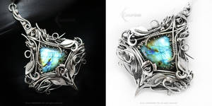 ISSERENTH Silver and Labradorite by LUNARIEEN