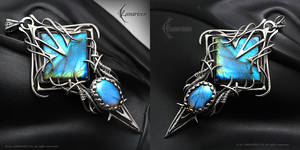 EFEHNGNAR - Silver and Labradorite by LUNARIEEN