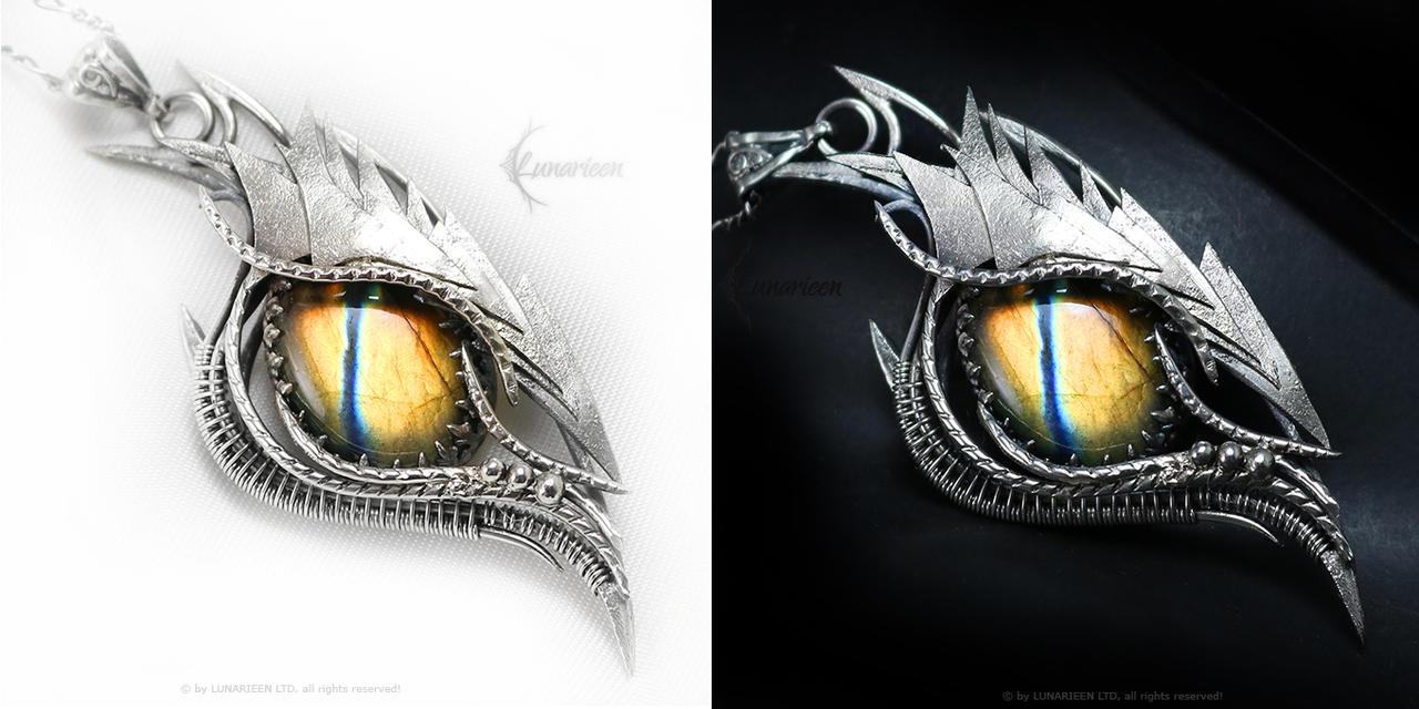 MELLARTH DRACO Silver and Labadorite
