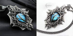 XYNGHNIR - gothic style pendant.