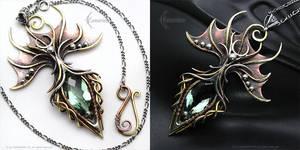 NYXAREEL - Gothic style necklace