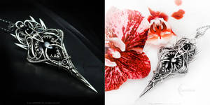KYARRAH Silver , Black Onyx and Black Diamond