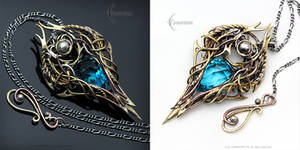 XENERTHIEL - gothic style pendant.