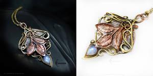ATHERRALTH Bronze,Brass, Copper, Silver, Moonstone