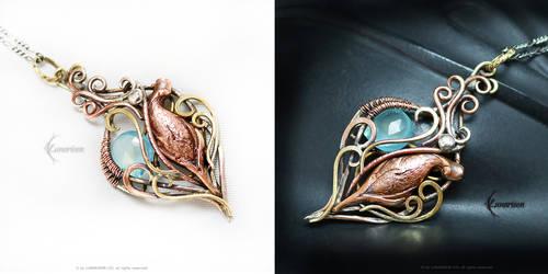 ETHEELINTH Bronze,Brass,Silver,Copper, Chalcedony