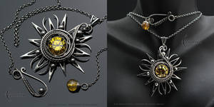 ZEGNNERIA - Silver and Zirconia and Citrine