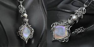 VORGUUR QAAR Gothic/Fantasy silver Necklace