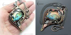 NYFARN XEMERI -  Victorian style necklace