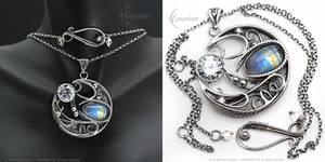 LUNA MYTHNIRL - Silver and Moonstone