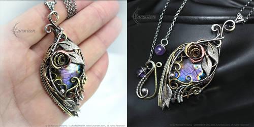 TNYRIEEL EYNRIE - Silver, Brass and Labradorite