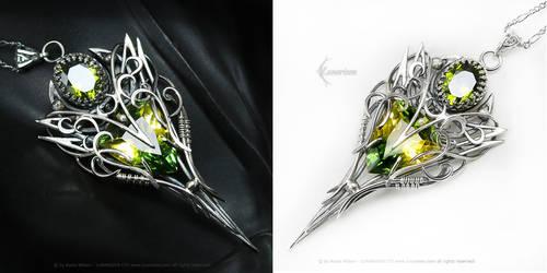 ESSARTHIAL - Silver, Ametrine, zirconia